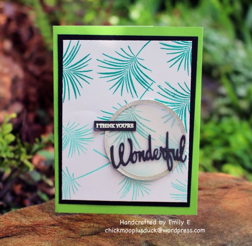 Wonderful card