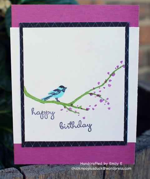 Birdie birthday