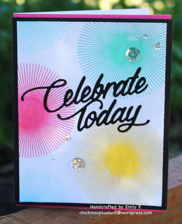 Celebrate today card 2