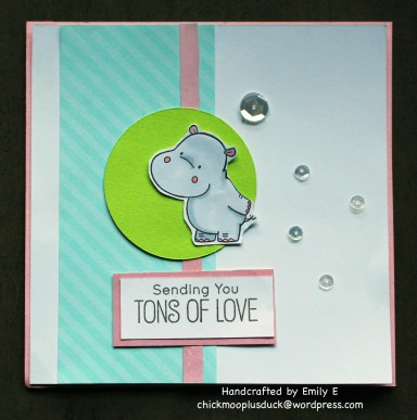 Hippo Love card