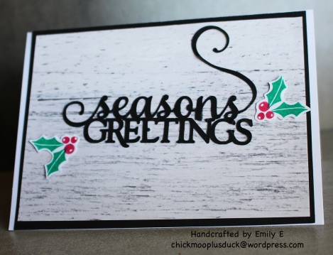 Seasons Greeting 2
